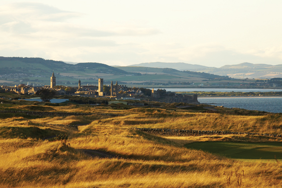 SC - View of Fairmont St Andrews Torrance course towards St Andrews copy